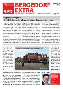 Bergedorf-Extra  November 2014